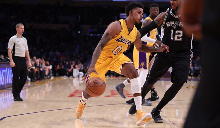 Przegrana bez D'Angelo Russella - Spurs 116 - Lakers 107