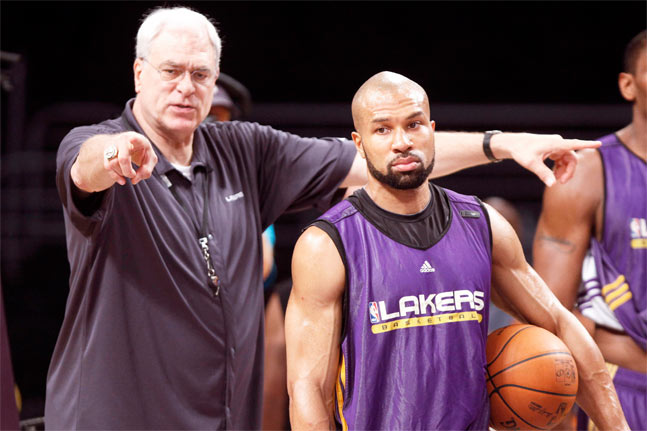 Derek Fisher trenerem NY Knicks. Lakers zwlekają